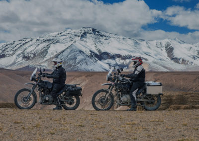 Royal Enfield The Himalayan motorcycle testing videos